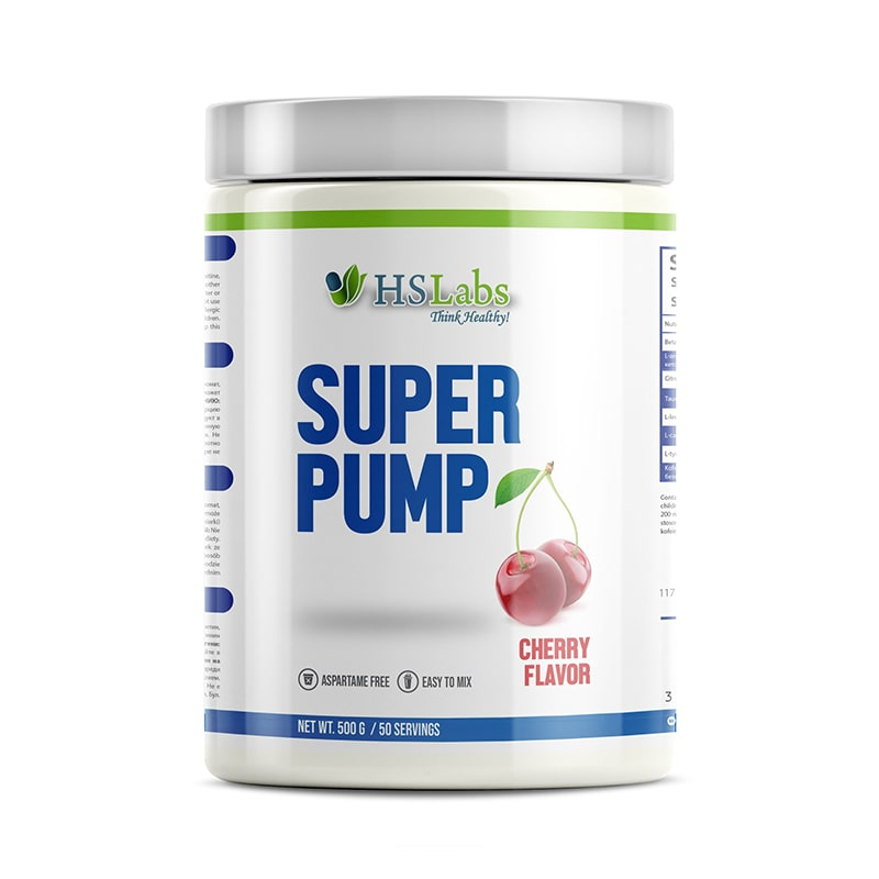 HS LABS – SUPER PUMP – 50 Дози