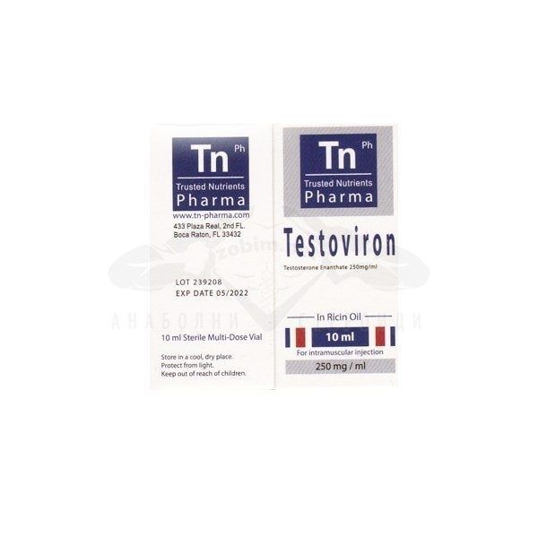 Testoviron (Testosterone Enanthate) – 10 мл. х 250 мг.