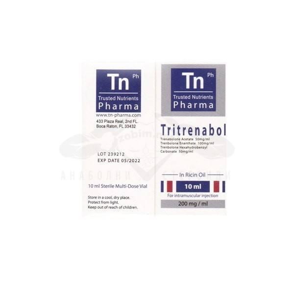 Tritrenabol – 10 мл. х 200 мг.