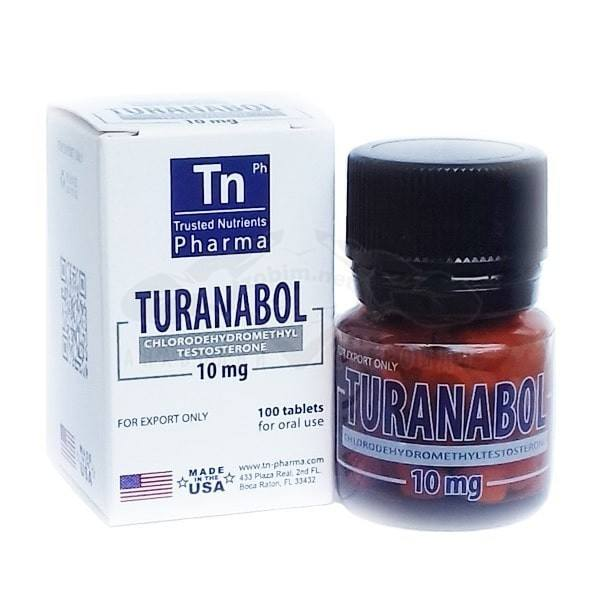 Turanabol (Chlordehydromethyltestosterone) – 100 табл. х 10 мг.