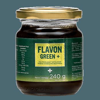 Flavon Green+ хранителна добавка мощен антиоксидант 240 гр.