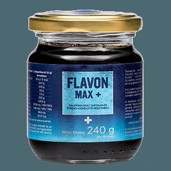 Flavon Max+ хранителна добавка за очи и кръвно налягане 240 гр.