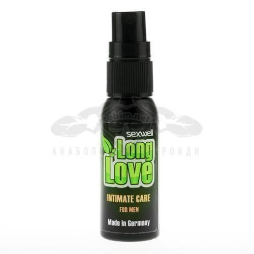 Задържащ спрей за мъже Long Love 30 ml