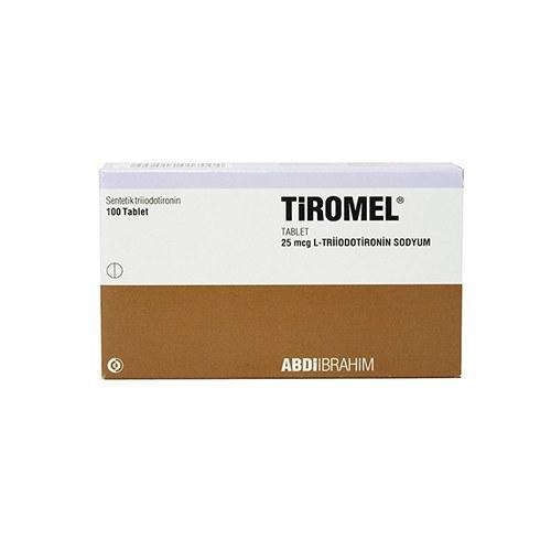 Tiromel T3 (Liothyronine) – 25 табл. х 25 мкг.