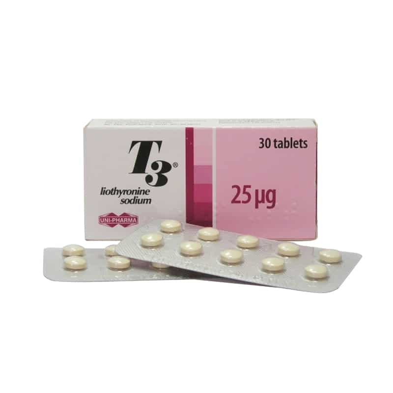 T3 (Liothyronine) – 30 табл. х 25 µg