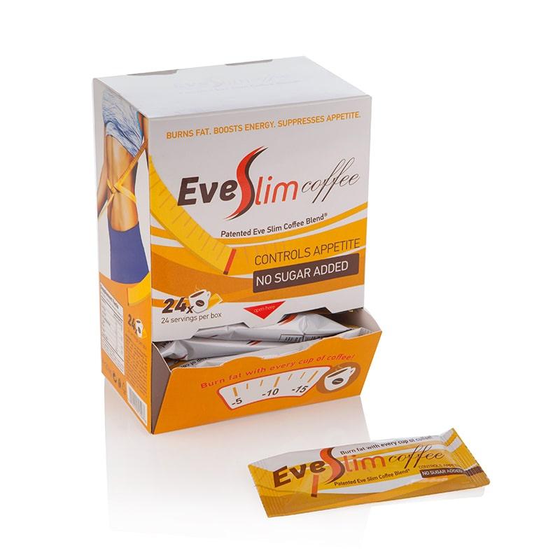 Разтворимо кафе с бленд за отслабване EveSlim – 24 пакетчета