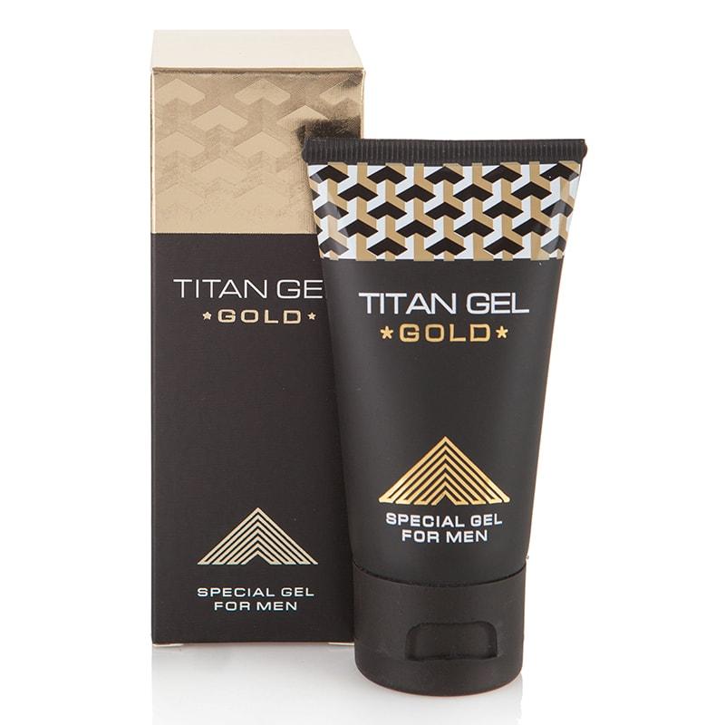 Titan Gel Gold – бъдете номер #1 в секса! – 50 мл.
