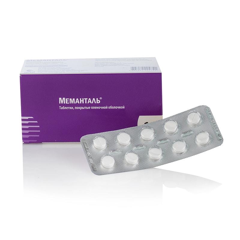 MEMANTALE (Memantine) – 10 табл. х 10 мг.