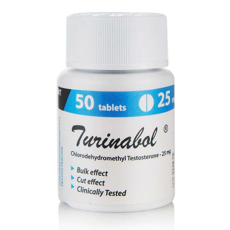 Turinabol – 50 табл. х 25 мг.