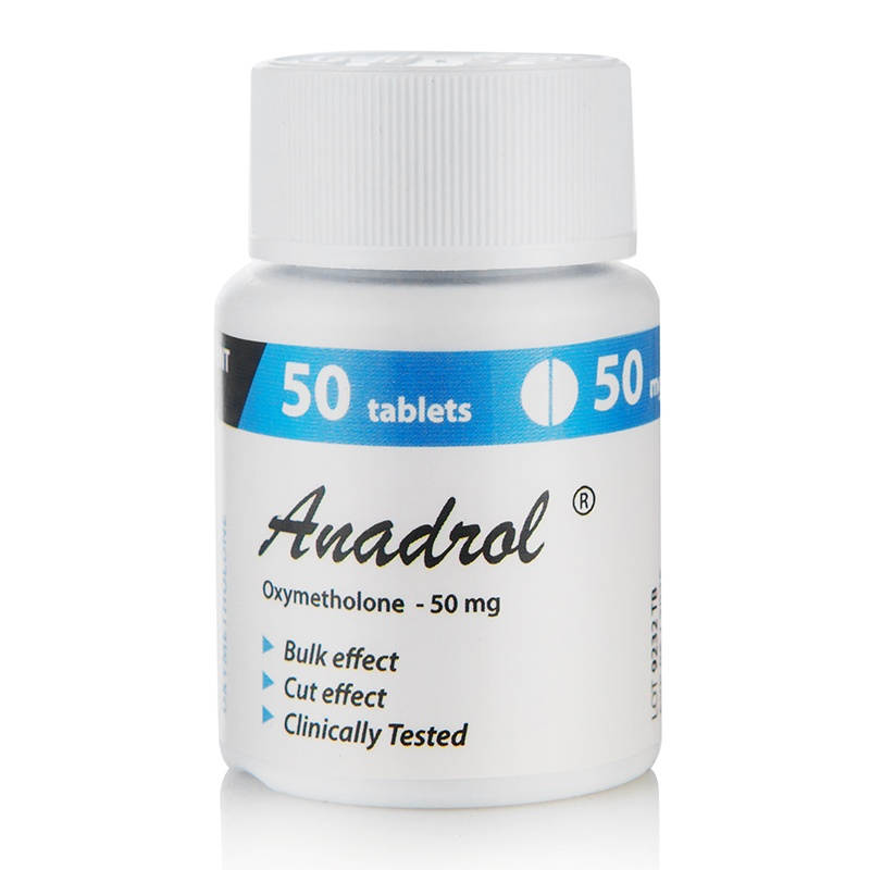 Anadrol – 50 табл. х 50 мг.