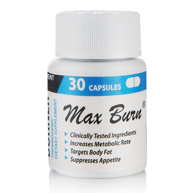 Max Burn за екстремно отслабване, 30 капсули