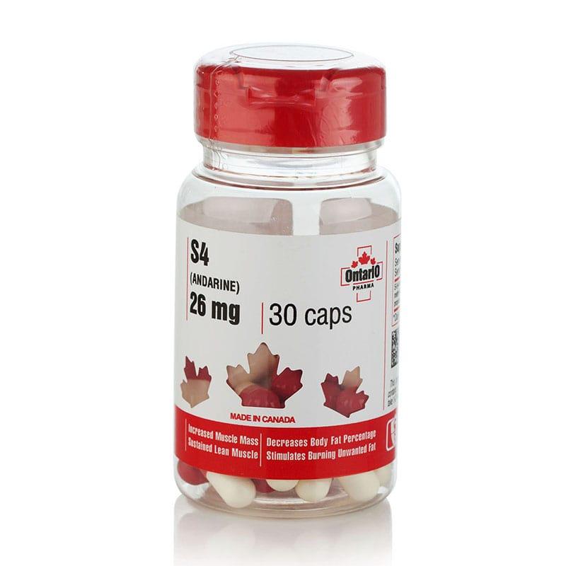 Andarine – 30 капс. х 26 мг.