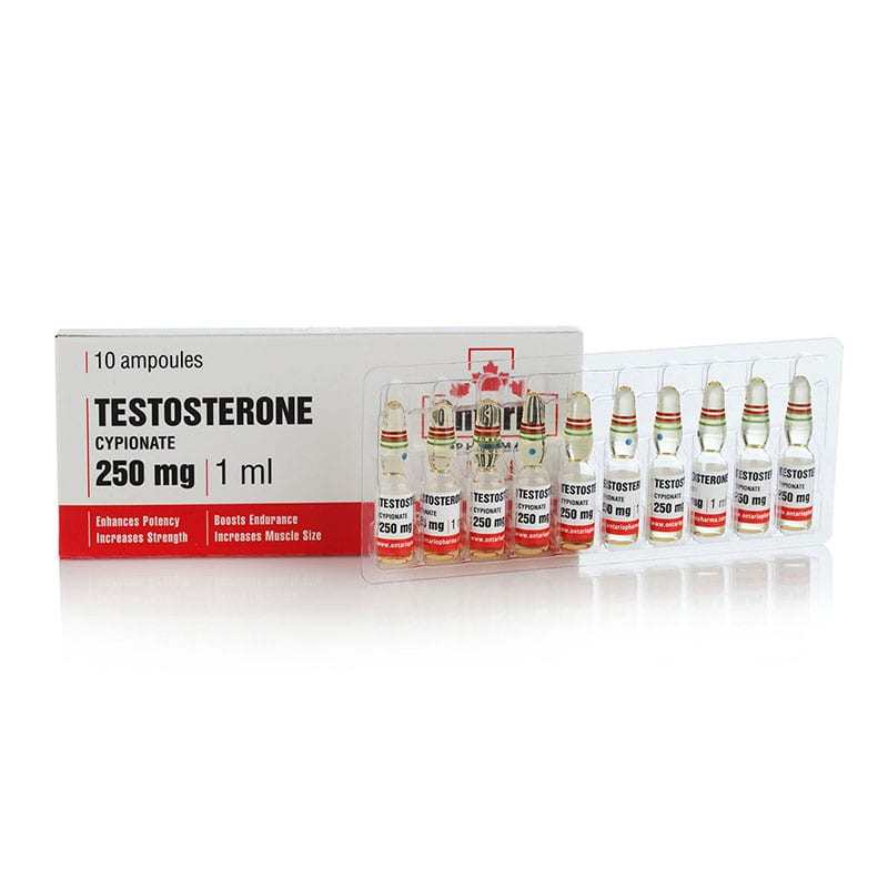 Testosterone Cypionate – 10 амп. х 250 мг.