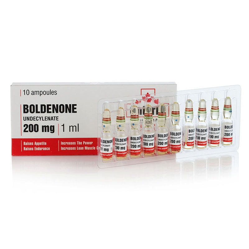Boldenone Undecylenate – 10 амп. х 250 мг.