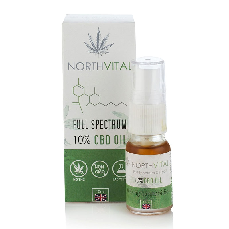 CBD Oil 10% Full Spectrum – 10 мл.