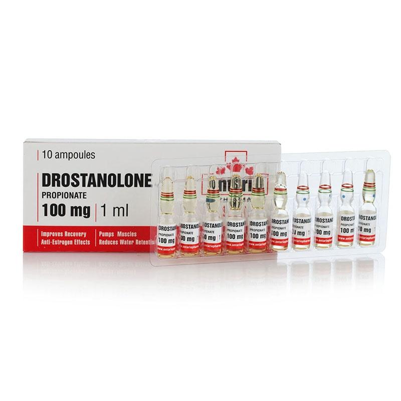 Drostanolone Propionate – 10 амп. х 100 мг.