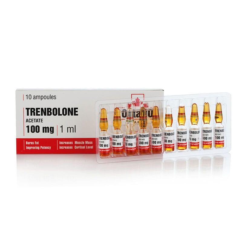 Trenbolone Acetate – 10 амп. х 100 мг.