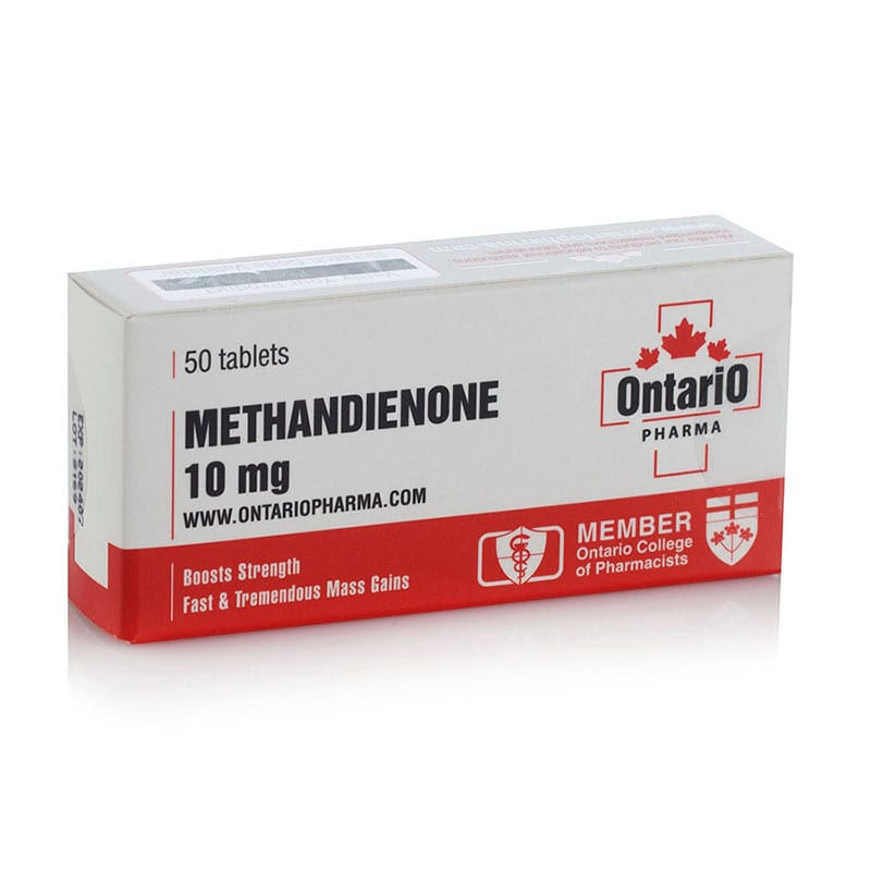 Methandienone – 50 табл. х 10 мг.