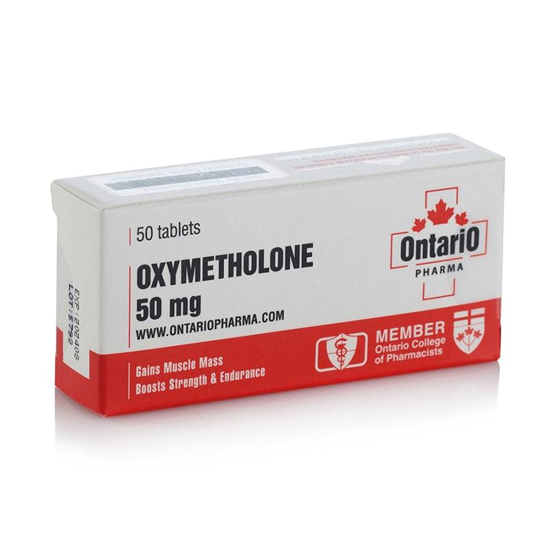 Oxymetholone – 50 табл. х 50 мг.