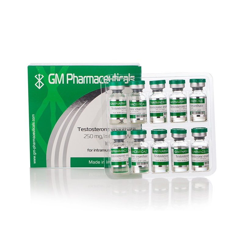 Testosterone Enanthate 250 мг./мл. – 10 амп. х 2 мл.