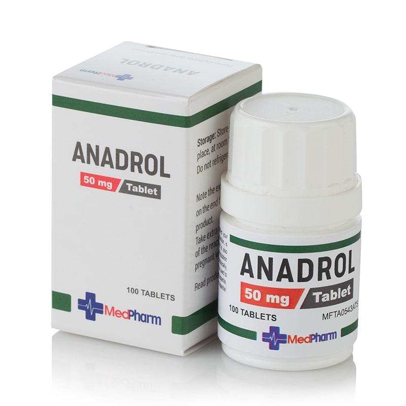 Anadrol (Oxymetholone) – 100 табл. х 50 мг.