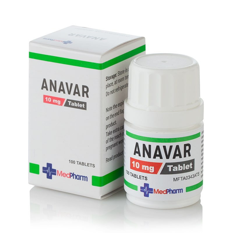 Anavar (Oxandrolone) – 100 табл. х 10 мг.