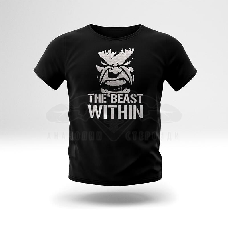 Тениска с бродерия