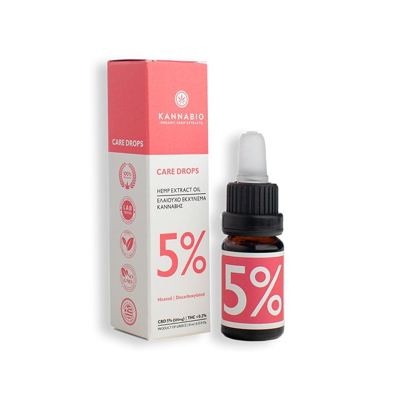 CBD Oil 5% Full Spectrum – 10 мл.
