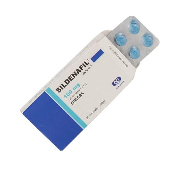 Sinegra (Силденафил) – 10 табл. х 100 мг.